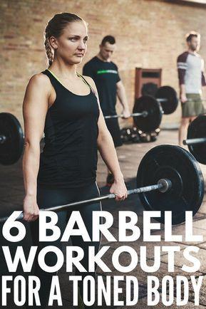 barbell workout program for women 6 exercises to tighten