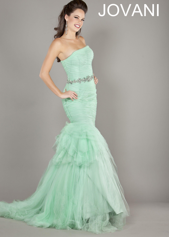 Jovani 64351 Light Green Mermaid Dress Prom Dresses Jovani Jovani Dresses Prom Dresses Online [ 3070 x 2193 Pixel ]