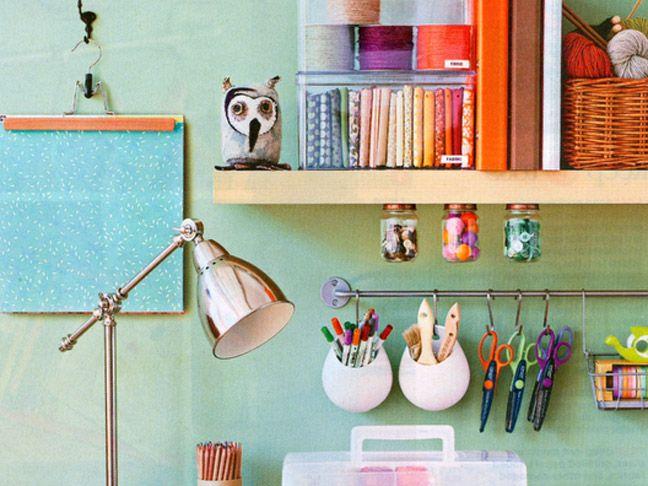 desk/craft space