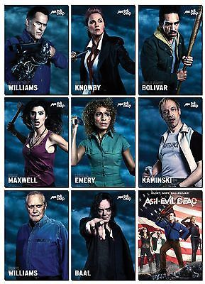 ASH-Vs-EVIL-DEAD-Season-2-9-Card-PROMO-Set-Bruce-Campbell-Army-of-Darkness