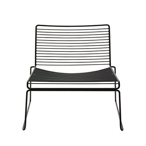 hay hee lounge chair black hee welling stahl pulverbes m bel pinterest gartenmoebel. Black Bedroom Furniture Sets. Home Design Ideas