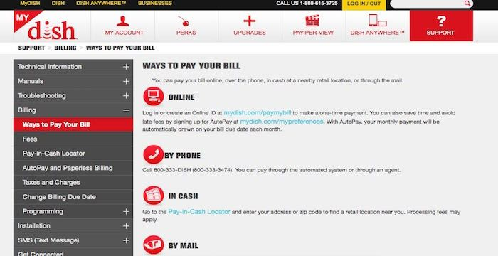 Dish Network Bill Pay Login To Dish Com Online Payment Paying Bills Bills Networking