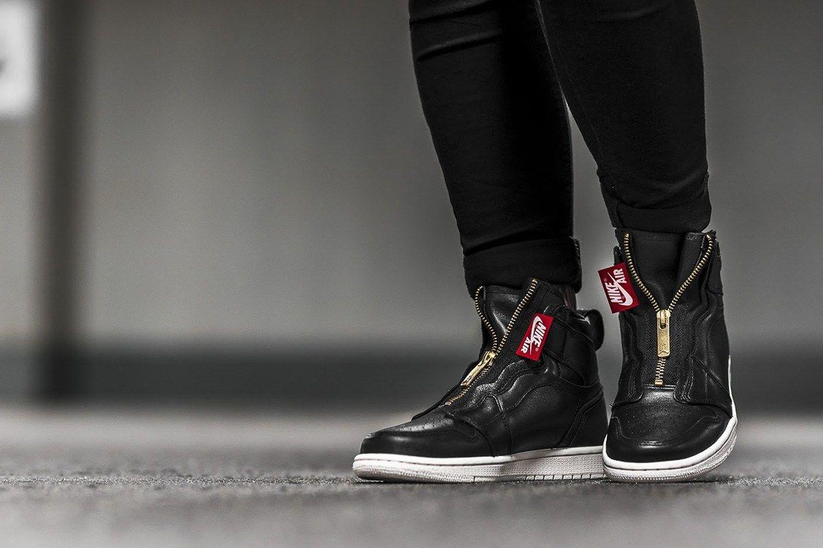 Jordan Trendy 1 Zip High Women's Air PackSneakers In Sizes Wmns wiluPkZTOX