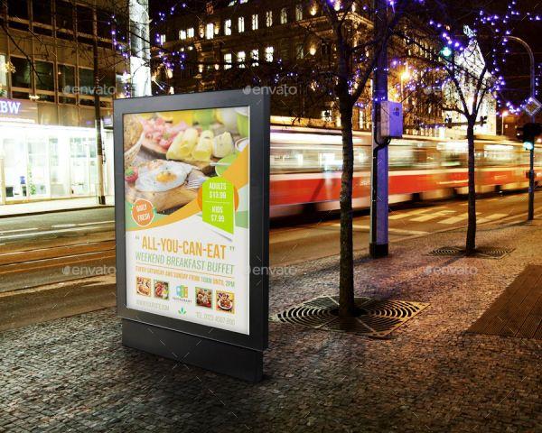 Breakfast Restaurant Advertising Bundle