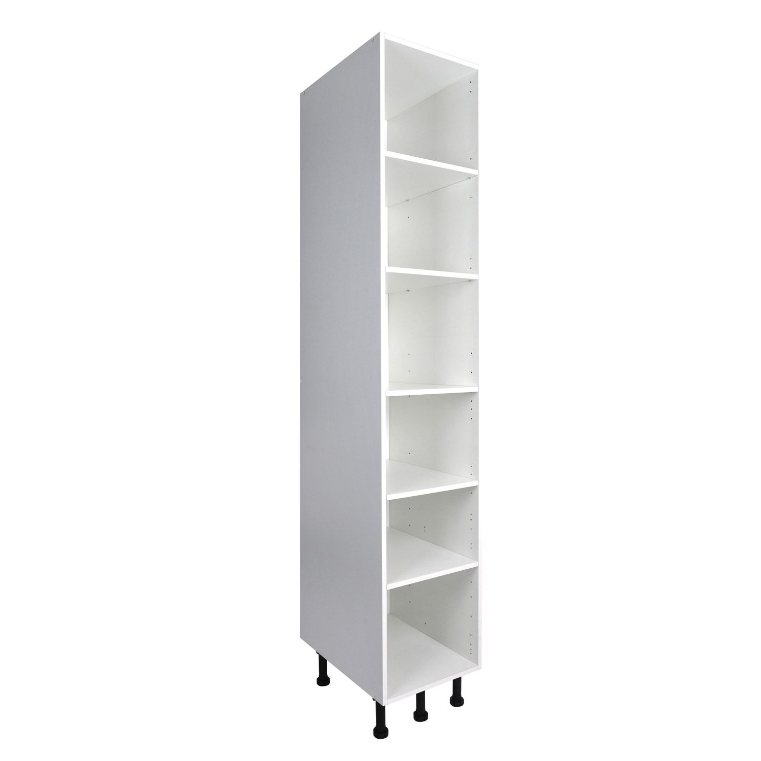 caisson de cuisine colonne c40 200 delinia blanc l40 x. Black Bedroom Furniture Sets. Home Design Ideas