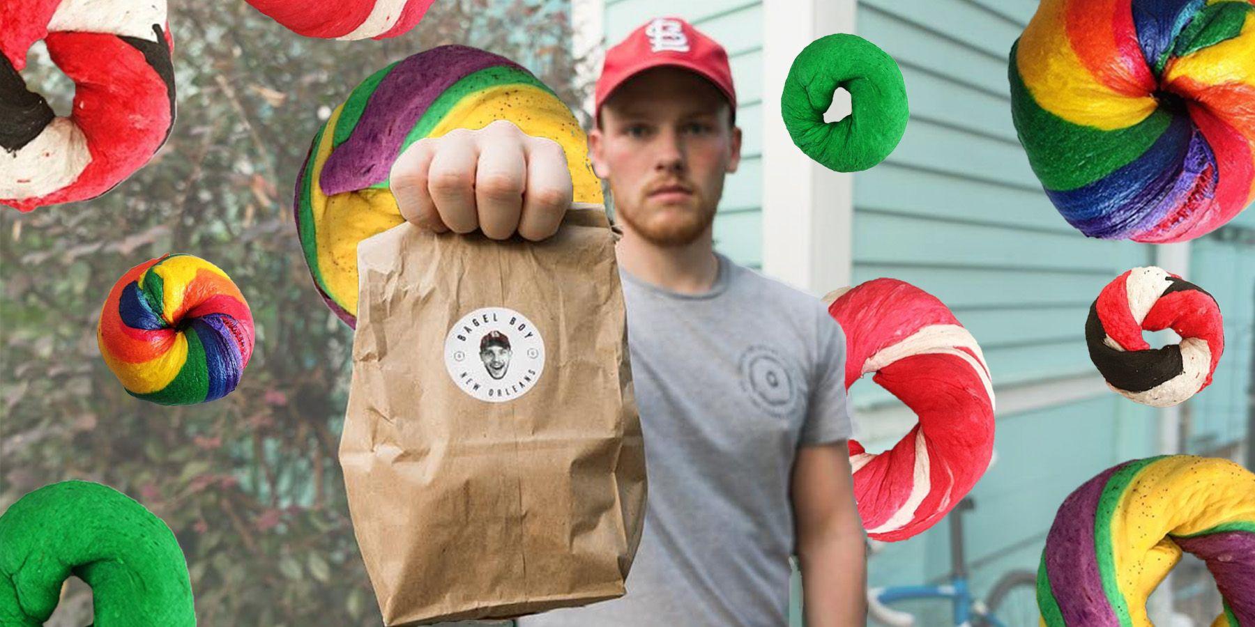 Meet Bagel Boy, the 20Something HandDelivering Bagels