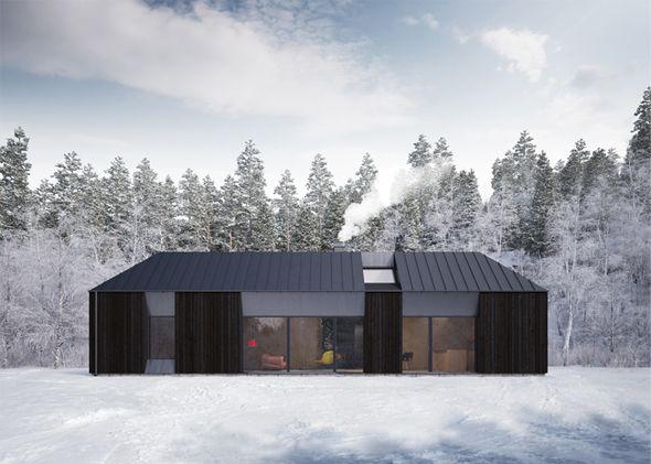 tind house par claesson koivisto rune maison en kit projets de maisons et design moderne. Black Bedroom Furniture Sets. Home Design Ideas