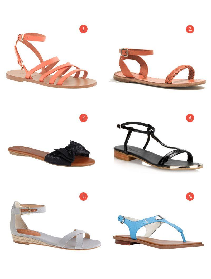 Des sandales (en soldes!)
