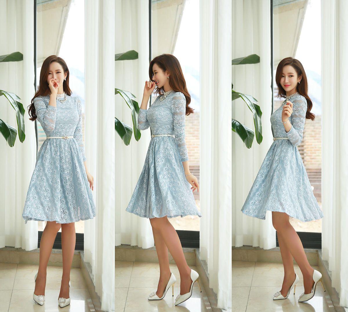 Romantic u trendy looks styleonme Платья pinterest shopping