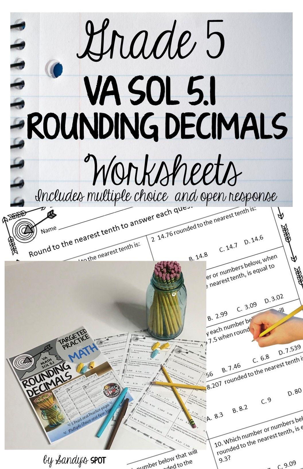 Rounding Decimals In