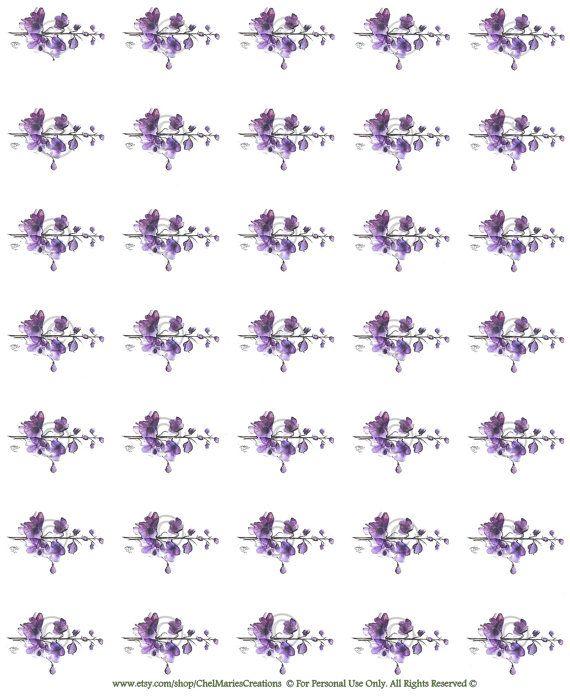 Purple Digital Download By ChelMariesCreations On Etsy