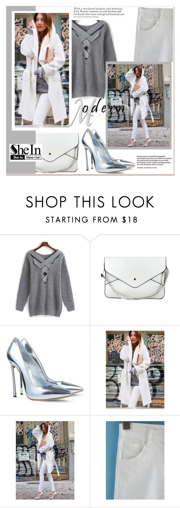 """SheIn 7."" by selmir ❤ liked on Polyvore"