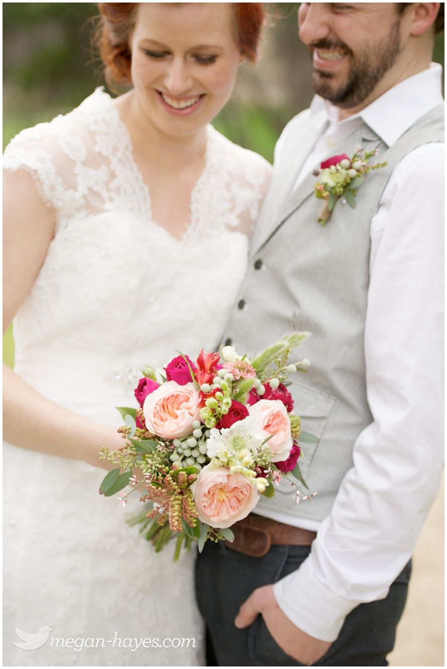 Anne of green gables wedding dress  Pink fuchsia and GreenWedding Bouquet  Wedding Clothes