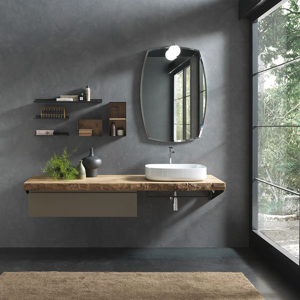 Yes To This Style Of Vanity For Master And Kids Bagno