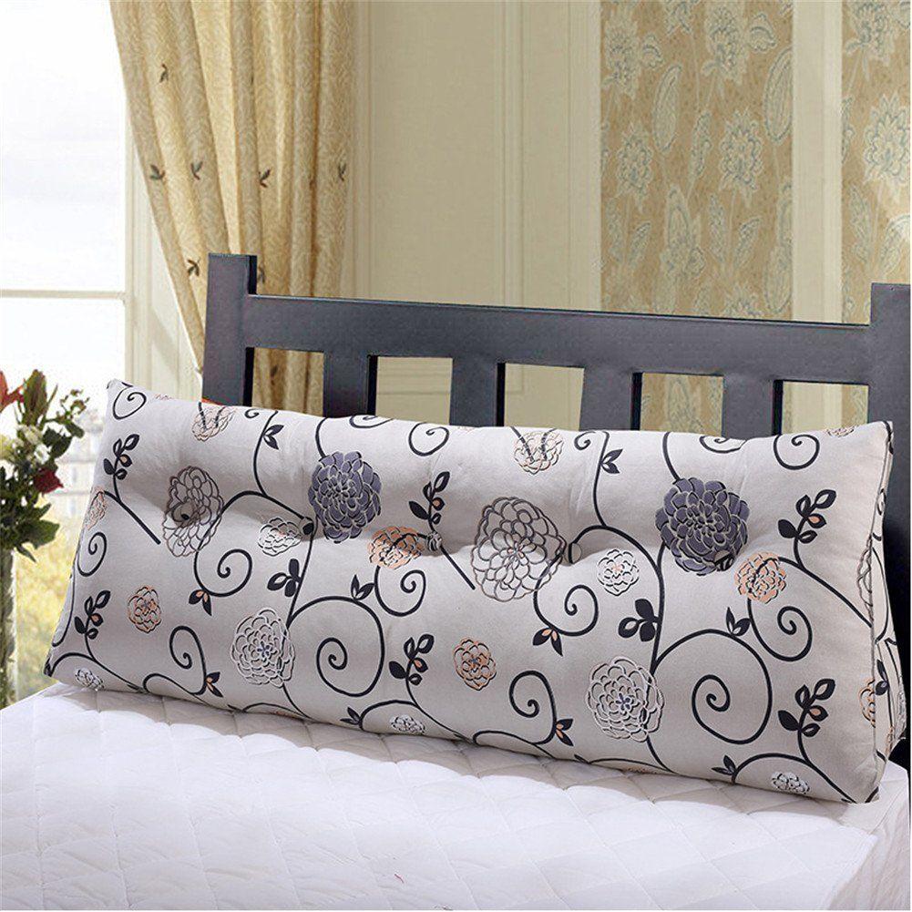 large sofa pillows back cushions bed