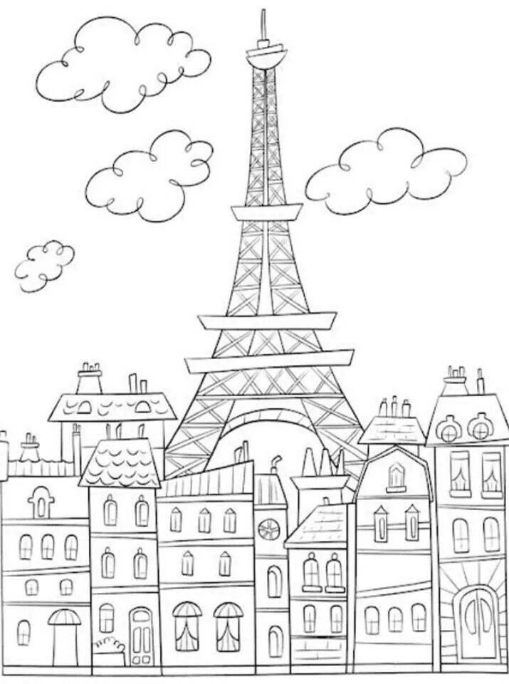 Paris..sempre Paris | art | Pinterest | Colores, Pintar and Dibujos