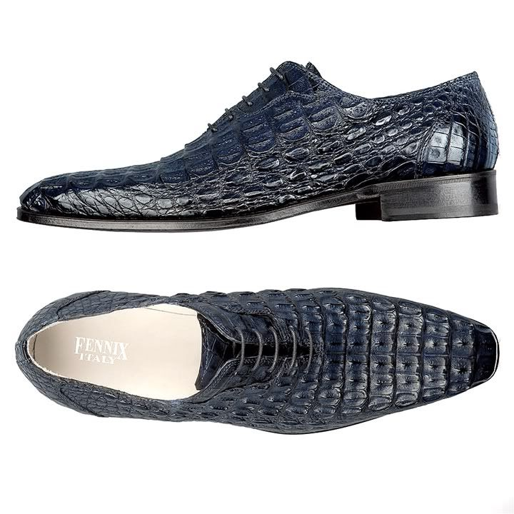 Alligator Leather Golf Shoes
