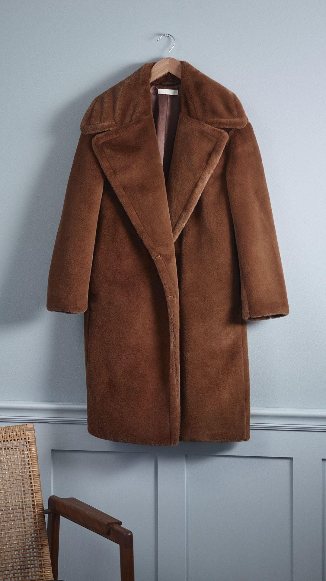 d5032d9c1 Faux Fur Coat in 2019
