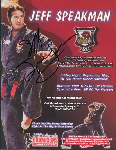 jeff speakman 2015