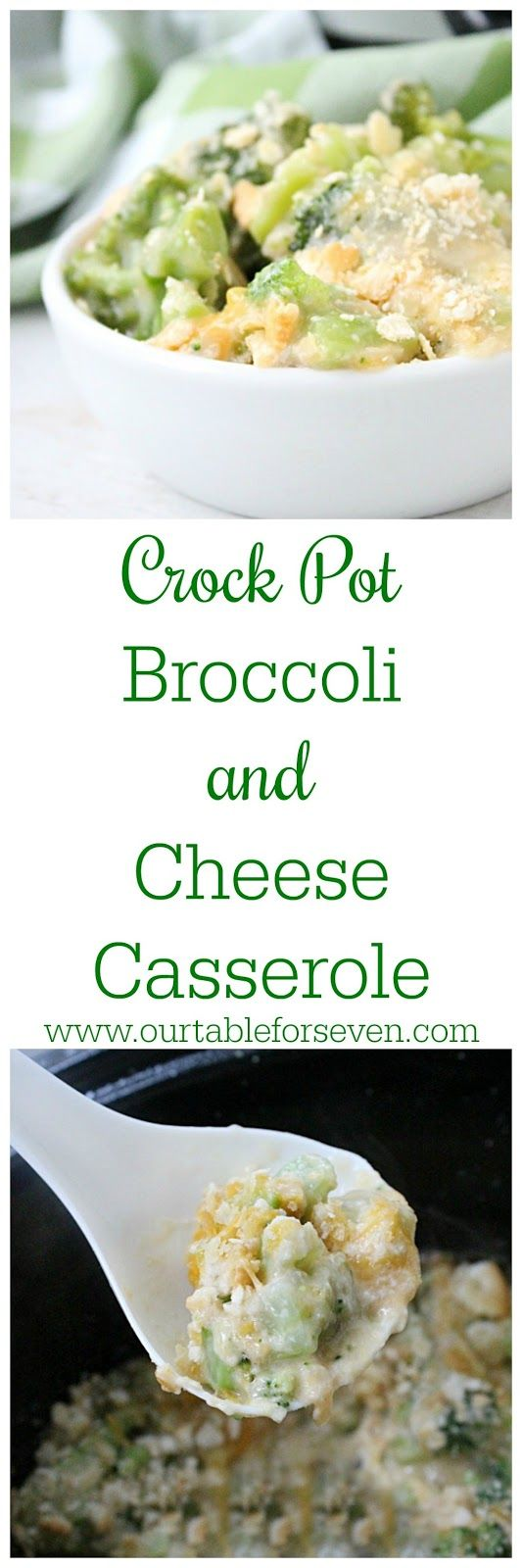 Crock Pot Broccoli and Cheese Casserole
