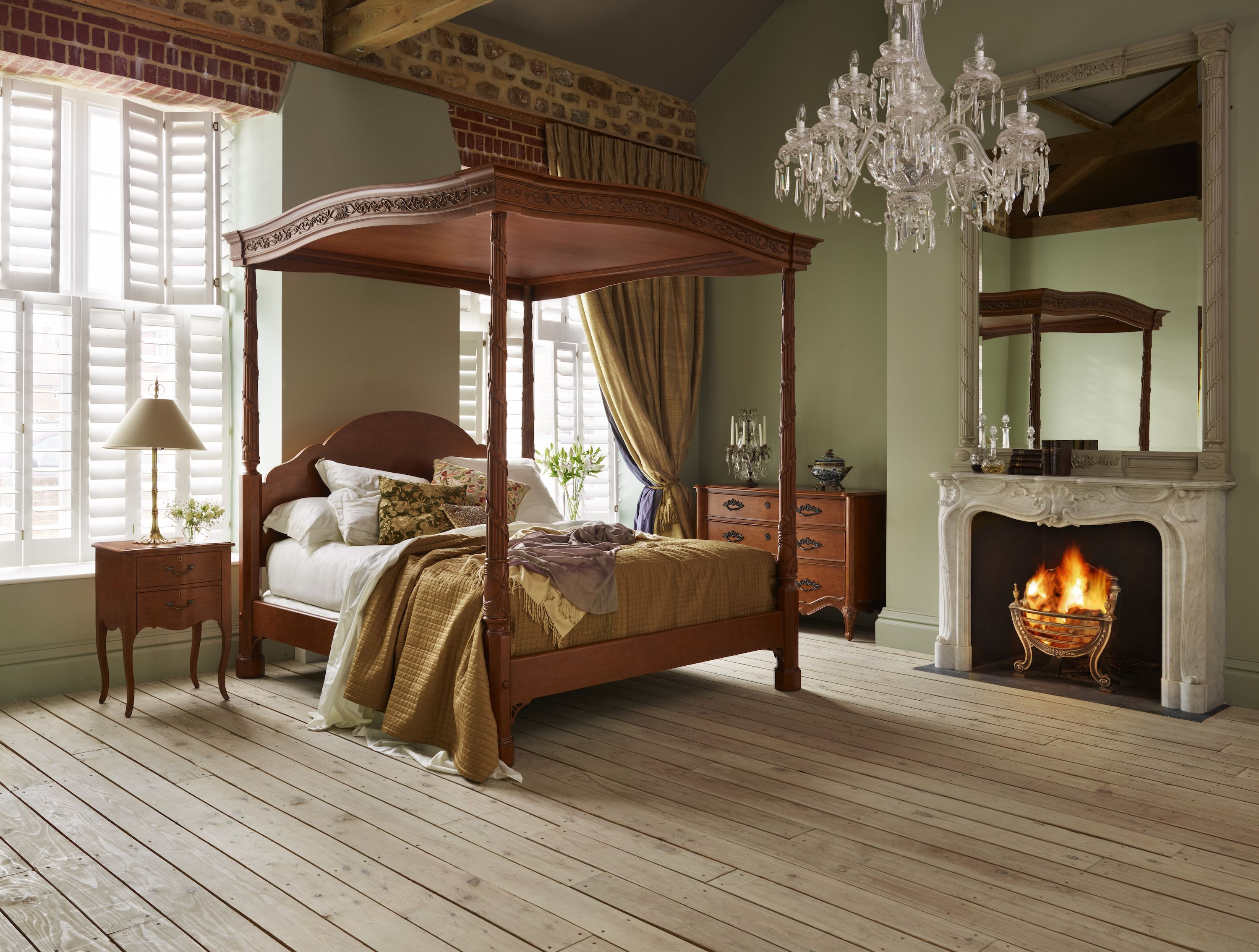 The Ribbons Four Poster Bed From And So To Bed