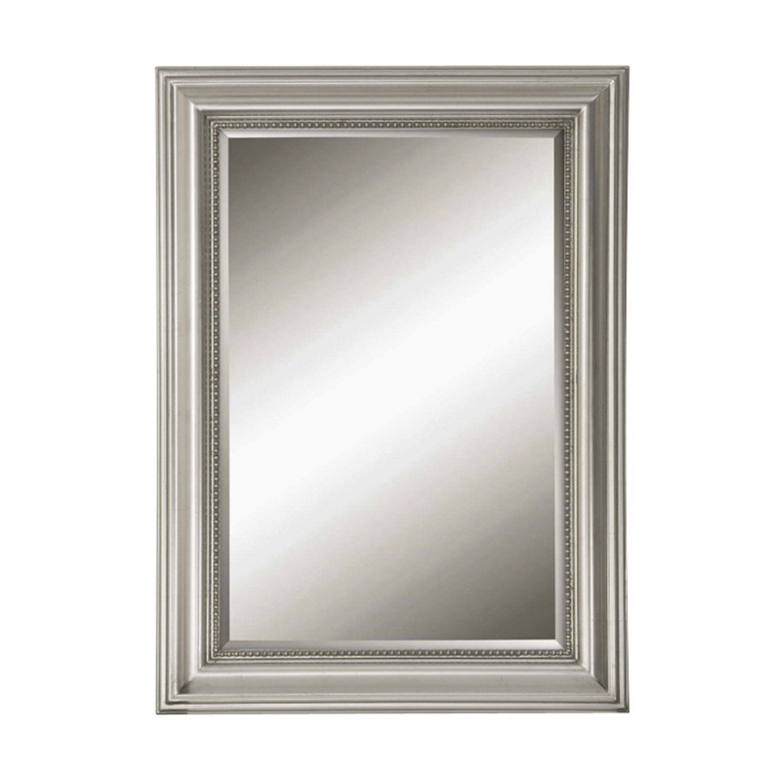 Uttermost Stuart Silver Leaf & Black Wall Mirror 26.75W