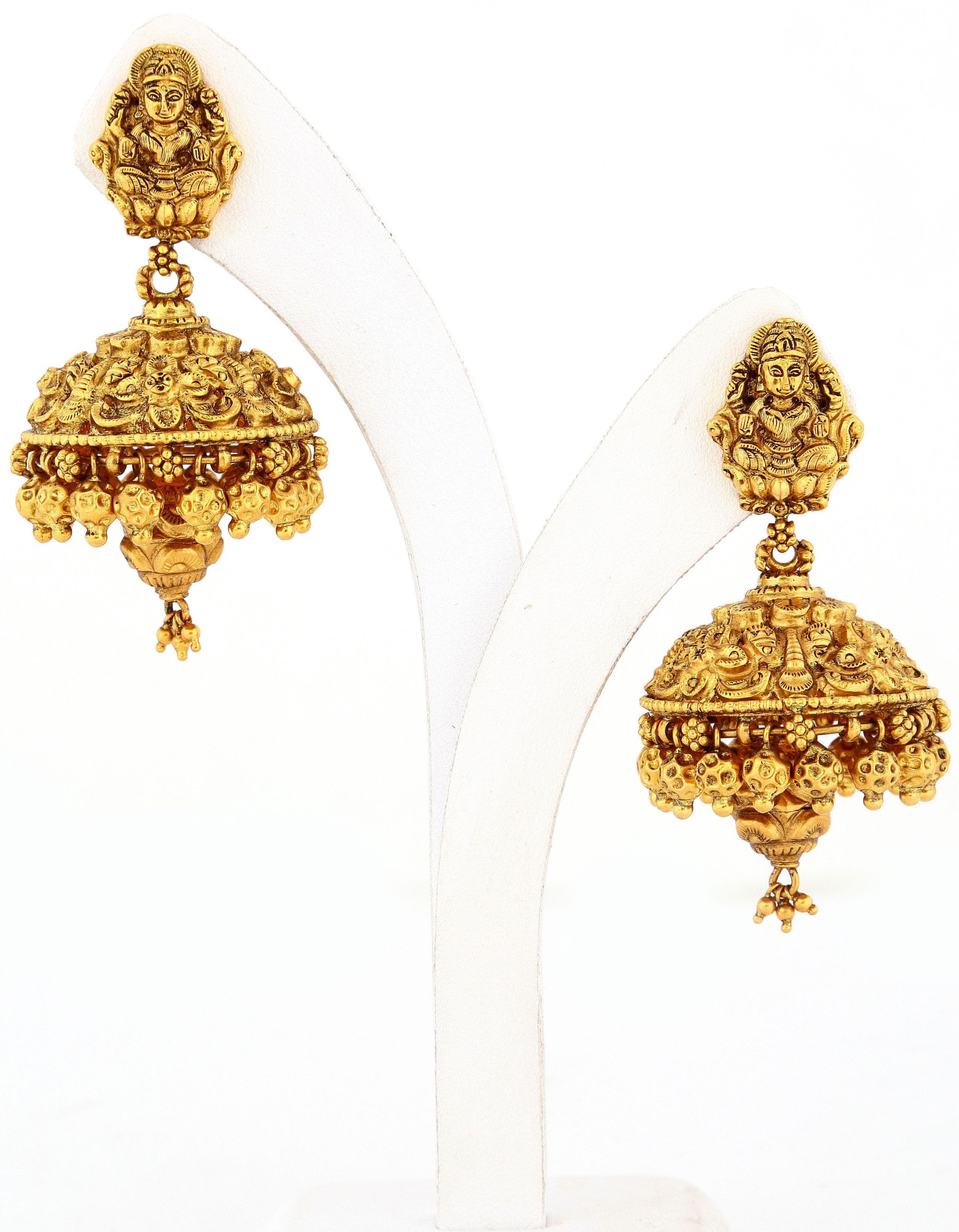 Lakshmi Nagas Jimukka | Jewelry| Jhumkka gira re... | Pinterest ...