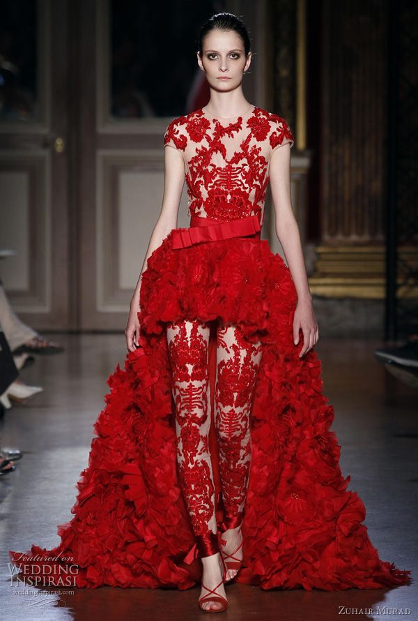 Blanc de Chine Unveils Spring/Summer 2012 Collection ...  Chinese Wedding Dresses 2012