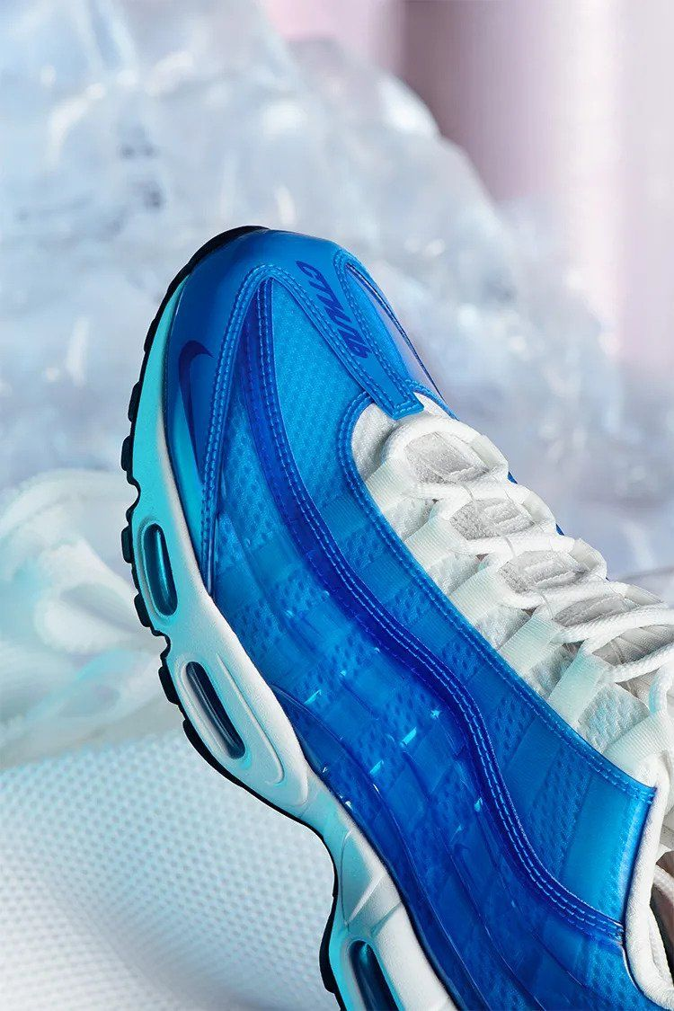 Authentisch AIR MAX 97 Sneaker low game royalmetallic
