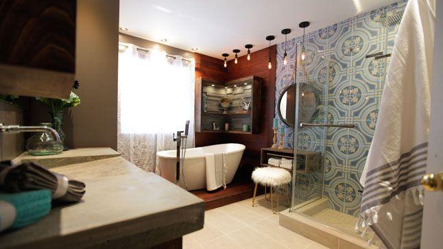 Une salle de bain chic et moderne Pinterest