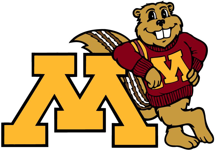 Minnesota Golden Gophers Mascot Logo Minnesota Golden Gophers Mn Gophers University Of Minnesota