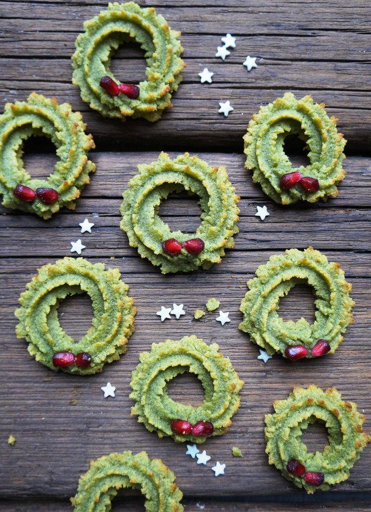 Keto Cream Cheese Christmas Wreath Cookies Yummy Things