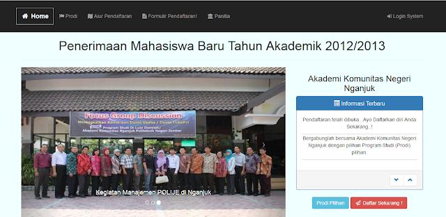 Download Source Code Website Penerimaan Mahasiswa Baru