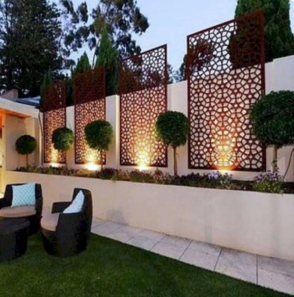 Amazing Garden Decoration Ideas For Your Home 17 Home Decor Diy Design Small Backyard Landscaping Backyard Landscaping Fence Design