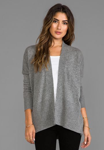 This Vince cardigan looks so cozy