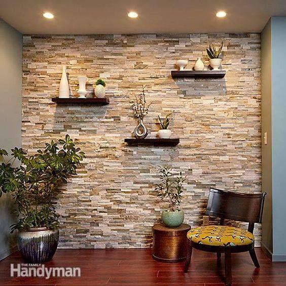 Ideas de como decorar con piedra piedra ideas y decoraci n for Terrazas traseras