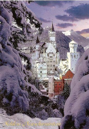 Germany - Neuschwanstein Castle Winter