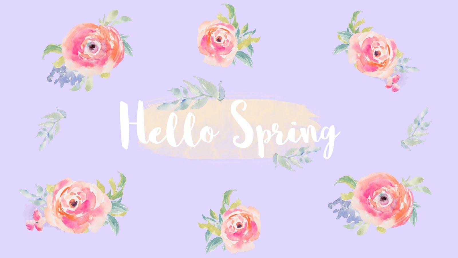Free Spring Desktop Wallpapers Elizabeth Anne Spring Desktop Wallpaper Wallpaper Desktop Wallpaper