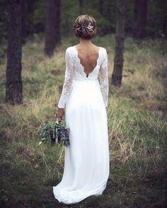 108 Gilla Markeringar 1 Kommentarer By Malina Bridal Bymalinabridal Pa Instagram Loving Our Stunning Boho Wedding Dress Lace Boho Wedding Dress Bridal