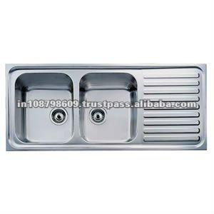 S S Kitchen Sink With Drain Board Drainboard Sink Kitchen Sink Remodel Stainless Steel Double Bowl Kitchen Sink Stainless steel kitchen sinks with drainboard