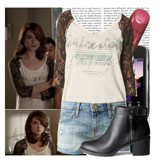 Allison Argent-Unleashed by elenadobrev90 on Polyvore featuring polyvore, fashion, style, Current/Elliott, H&M, Episode, Samsung and clothing