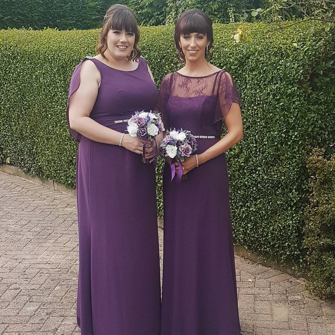 Purple bridesmaid dresses by Wonder by Jenny Packham available at ...