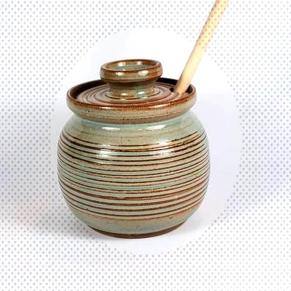 Cost-Free pottery bowls with lids Tips Honey Pot with Lid- Sugar Bowl with Lid- Sugar Jar with Lid