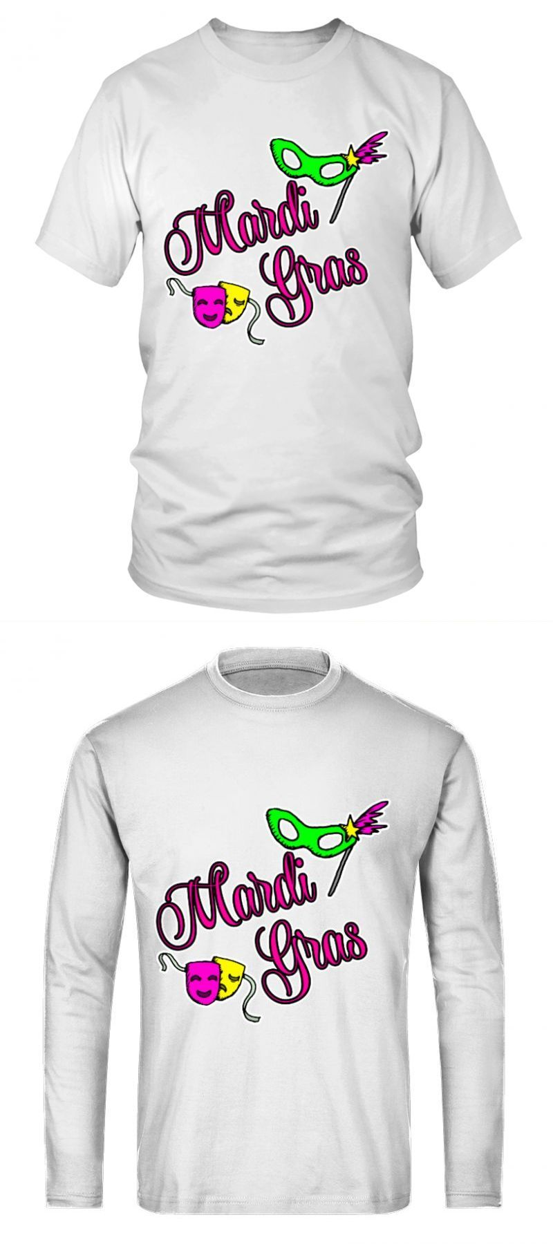 bda13322 Mardi gras t shirt designs mardi gras day mardi gras t shirt ideas #mardi # gras #shirt #designs #day #ideas #round #neck #t-shirt #unisex #long  #sleeved