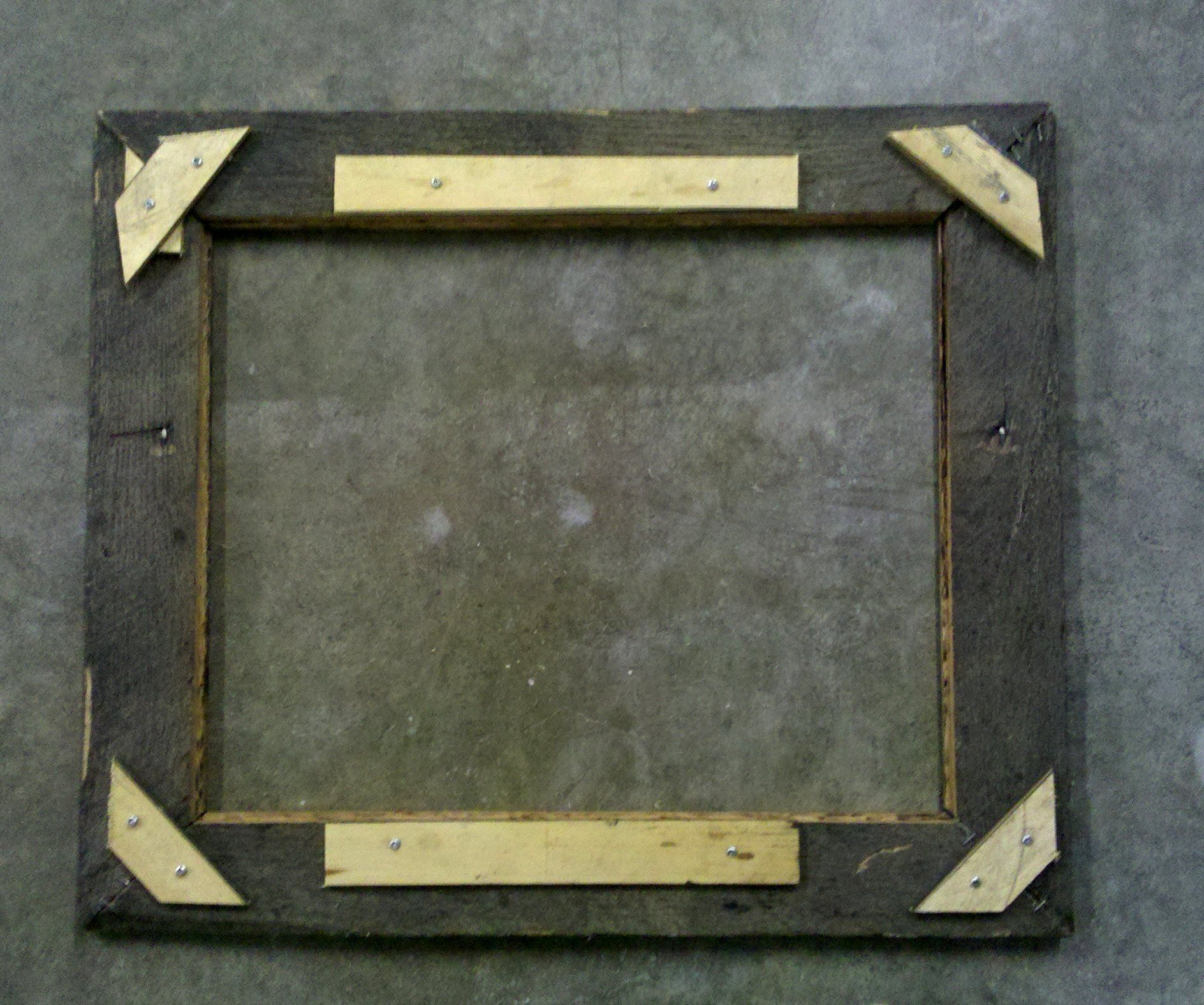 Great idea on how to attach mitred corners for a photo frame | Barn ...