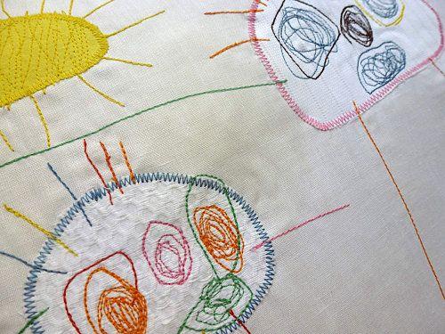 Coussin à partir d\u0027un dessin Pour la maison Pinterest Gabriel