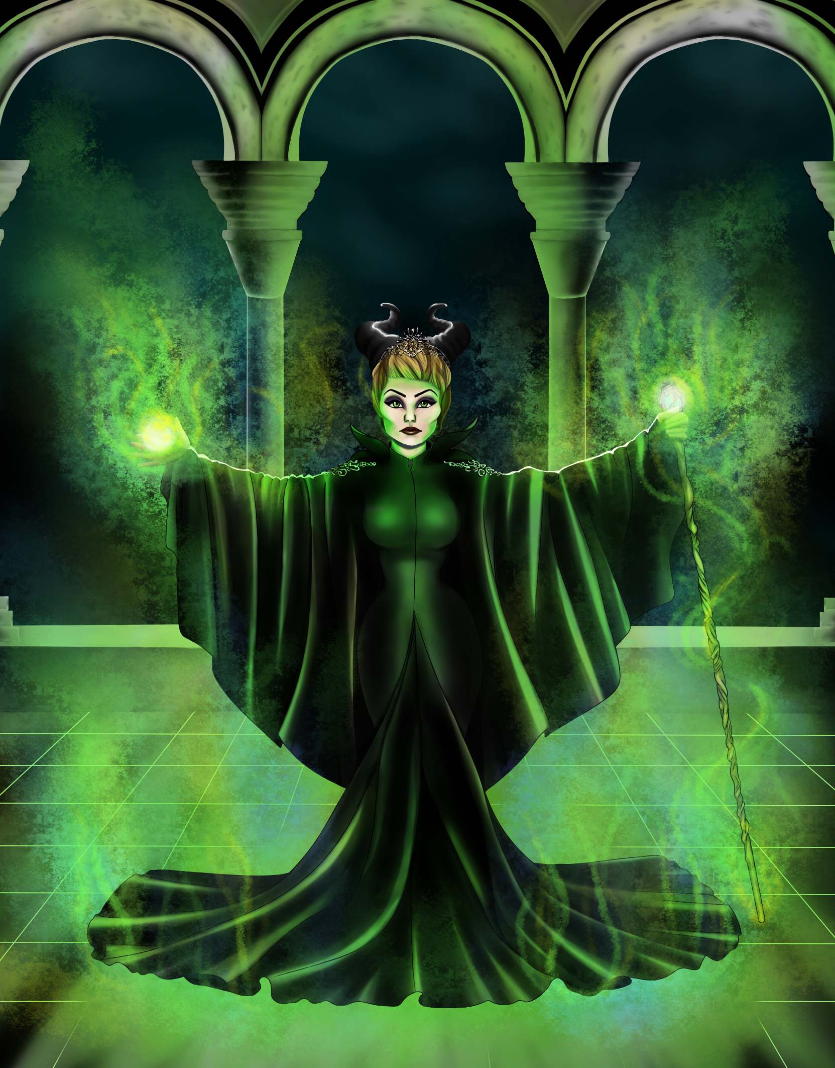 Maleficent Cersei My Art Maleficent Instagram Game Of