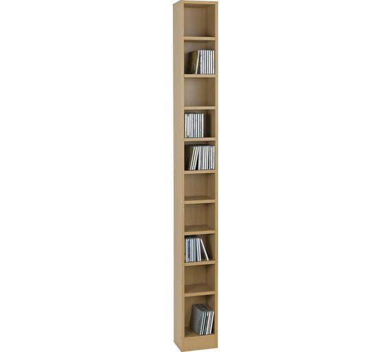 Buy HOME Maine Tall DVD and CD Media Storage Tower-Beech Effect at Argos.co. uk visit Argos.co.uk to shop online for CD and DVD storage ...  sc 1 st  Pinterest & Buy HOME Maine Tall DVD and CD Media Storage Tower-Beech Effect at ...