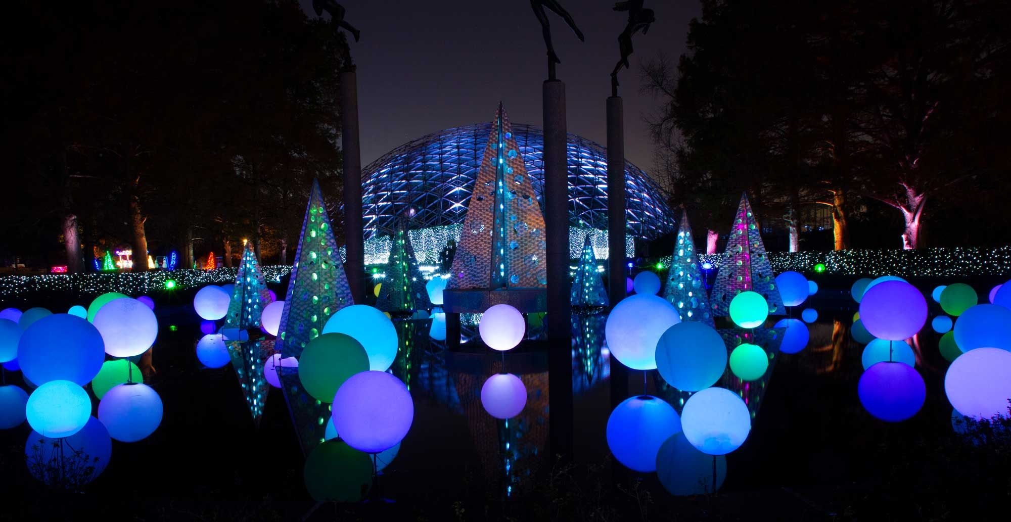 Celebrate the season with over one million dazzling lights