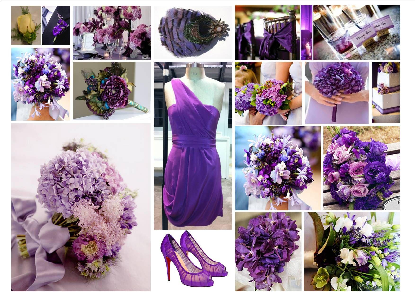 Purple Wedding Ideas Wallpaper Decorations Pinterest Concepts